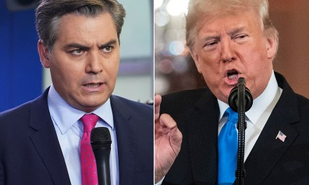 CNN's Jim Acosta levels Trump: 'Our record on delivering the truth is better than yours'