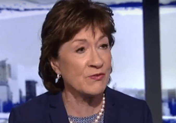 Wishy-washy Susan Collins now just 'hopes' Trump won't abuse his power again