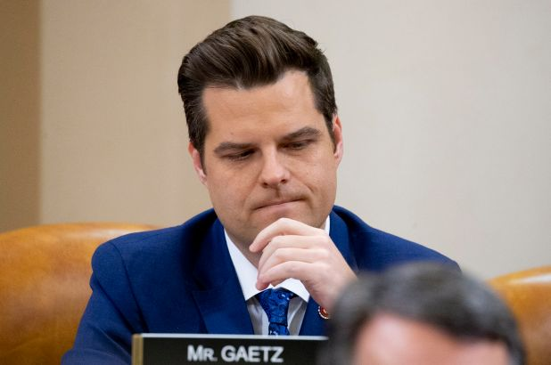 Matt Gaetz unconvincingly insists that his female staffers are on his side