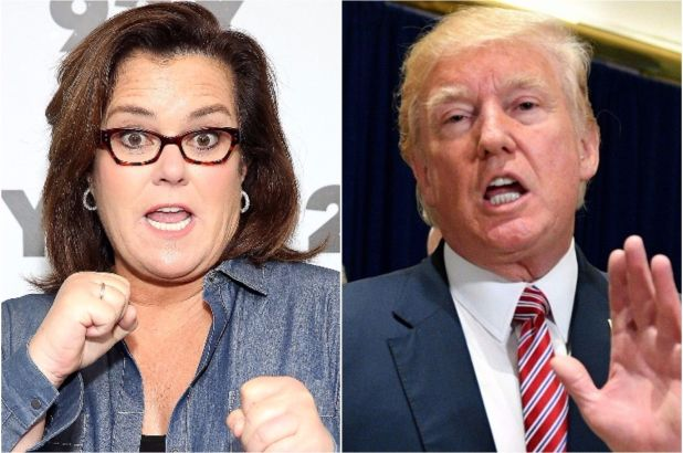 Rosie O'Donnell burns Trump to the ground after he attacks her at a campaign rally
