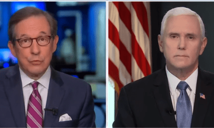 Chris Wallace confronts Pence over Trump's tweets calling for a 'domestic rebellion' in blue states