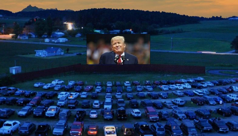 Desperate for adulation, Donald Trump is now considering drive-in theater campaign rallies