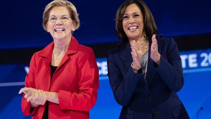 Harris, Warren are the clear front-runners to be Biden's choice as VP: Report