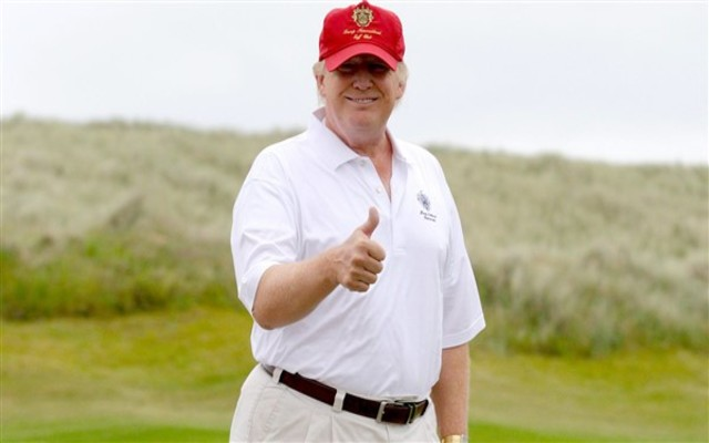 Twitter slams Trump for 'pimping' his California golf course as coronavirus death toll passes 80K