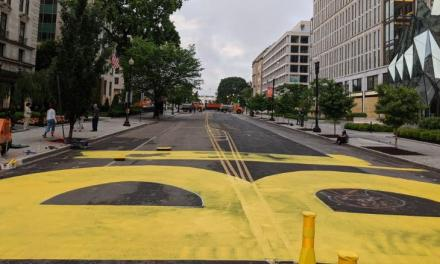 DC Mayor helps 'Black Lives Matter' take over street near White House in a unique way