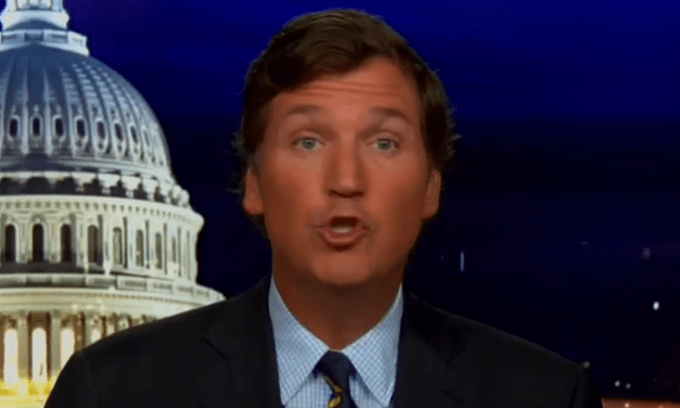 Panicky Tucker Carlson plays the fear card: 'Black Lives Matter is now more popular' than Trump