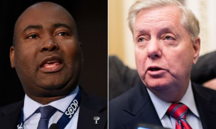 With just three words, Lindsey Graham's Democratic challenger absolutely destroyed him