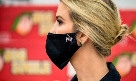 Enraged Trump supporters attack Ivanka Trump online for daring to wear a protective mask
