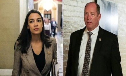 Republican congressman confronts AOC and calls her a 'f*cking b*tch' for her remarks on poverty