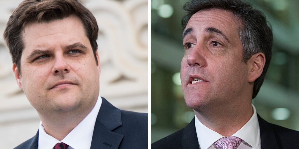 House Ethics Committee strongly rebukes Matt Gaetz for 2019 tweet targeting Michael Cohen