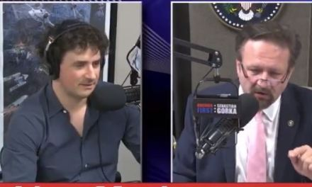 Trump ally Sebastian Gorka refuses to show video of man threatening him