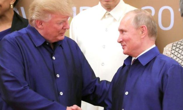 Trump just confessed that he trusts Vladimir Putin over American Patriots