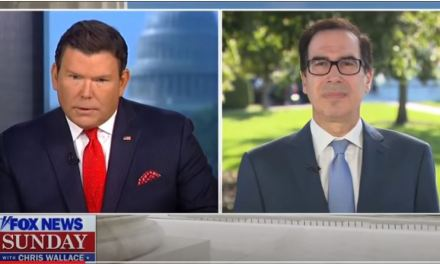 Mnuchin punts when confronted about Trump's cancel culture hypocrisy