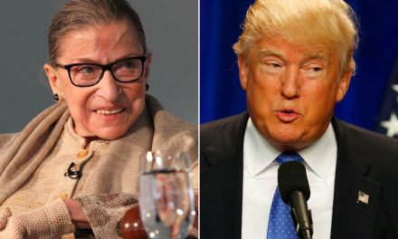 Trump's favorite polling firm warns: Replacing Ginsburg before the election would be a 'big mistake'
