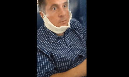 Devin Nunes gets heavily trolled on an airplane while incorrectly wearing a protective mask