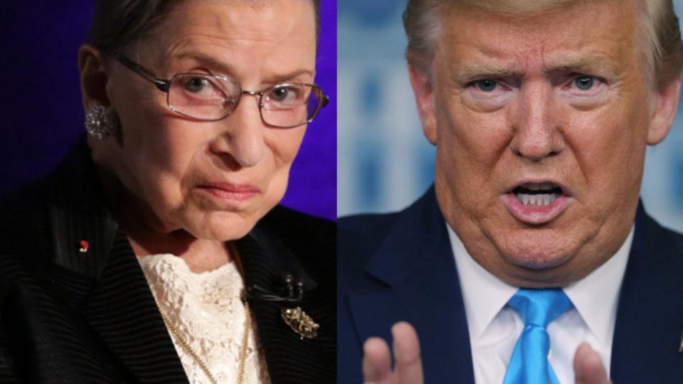 Trump tells Fox News RBG's dying wish was a hoax 'written out' by Adam Schiff or Nancy Pelosi