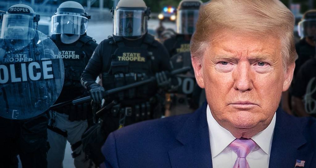 New poll shows Trump campaign's focus on 'law and order' is backfiring on him