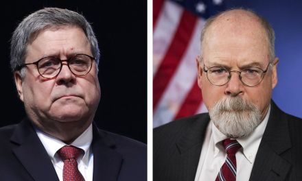 Barr informs Republicans the long-awaited Durham report won't be released before Election Day