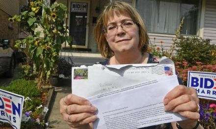 Pa Biden voters assaulted with racist and homophobic pro-Trump mail
