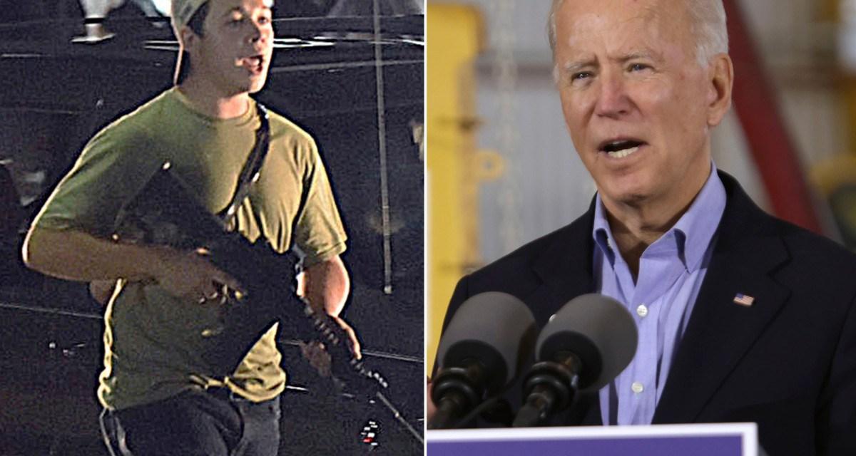 Accused Kenosha shooter Kyle Rittenhouse planning to sue Joe Biden for libel