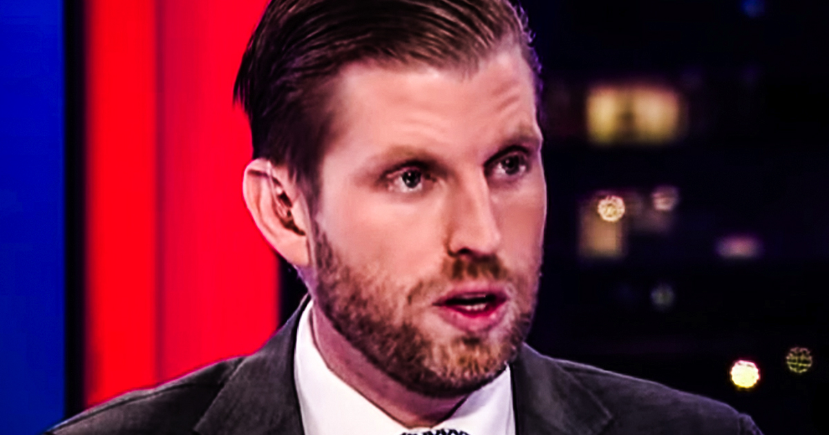 Eric Trump oddly tweets and then deletes post urging Minnesota residents to 'get out and vote!!!'