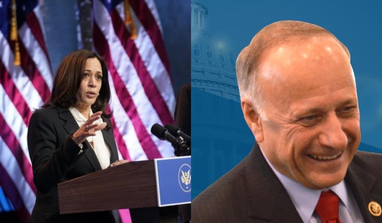 GOP Congressman Steve King asks Kamala Harris: Are you 'descended from slaves or slave owners?'