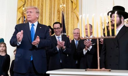 Trump celebrates Hanukkah at the White House by predicting a 'miracle' that gives him a second term