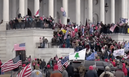 Trump supporters storm Congress in act of terrorism to overturn election
