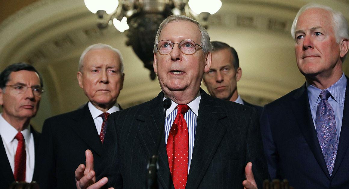 45 Senate Republicans signal they won't convict Trump