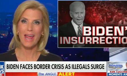 Laura Ingraham claims the 'real insurrection' is coming from Joe Biden