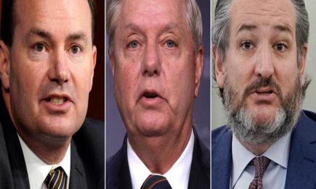 Busted: Three GOP senators caught meeting with Trump's impeachment attorneys