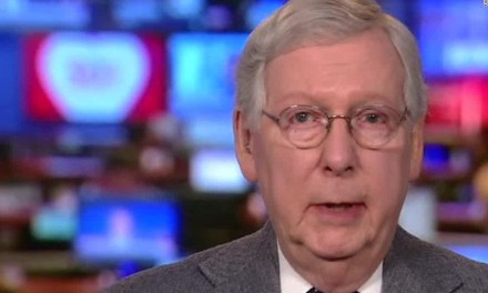 Mitch McConnell says he's worried Americans won't go back to work if they get $1,400 relief checks