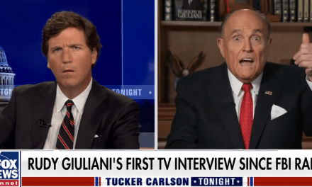 Rattled Rudy claims Hunter Biden is the reason the FBI raided his home and office
