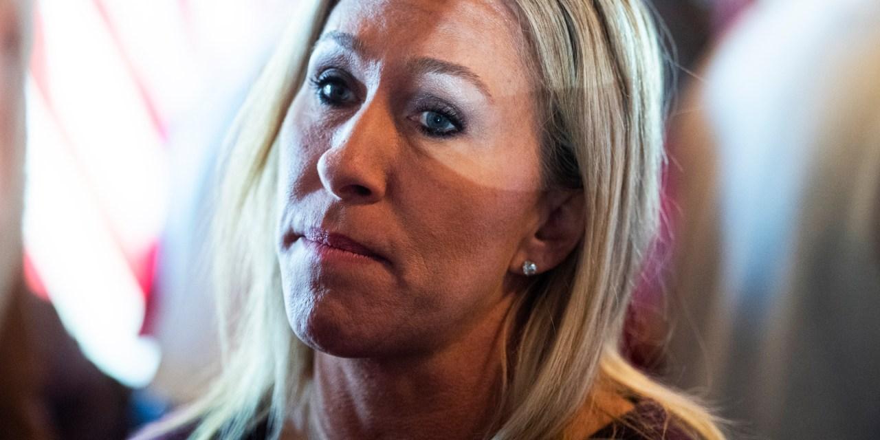 Lauren Boebert and Marjorie Taylor Greene falsely accuse Biden of falling asleep during meeting