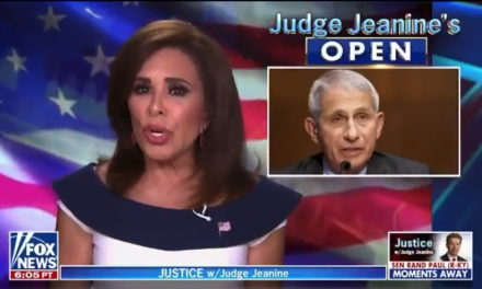 Jeanine Pirro says Dr. Fauci should have developed a COVID vaccine…Four years ago?!