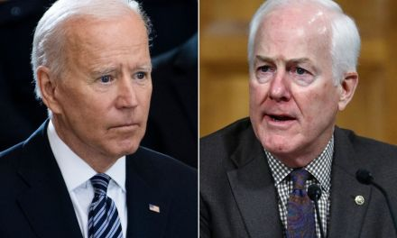 John Cornyn makes a fool of himself by complaining that Joe Biden is pulling the US 'out of despair'