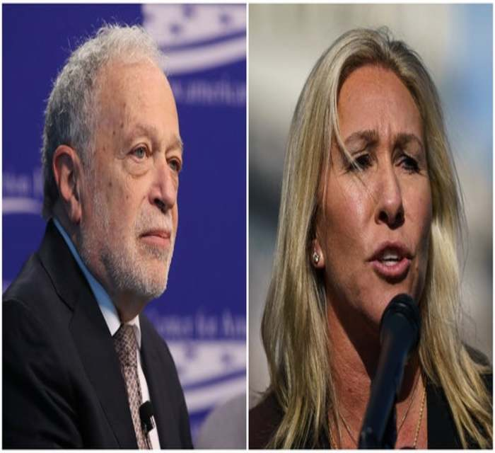 Marjorie Taylor Greene gets humiliated when she calls Robert Reich a 'communists' professor