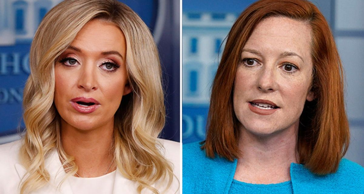 Kayleigh McEnany attacks Jen Psaki for using 'misinformation' at press briefings
