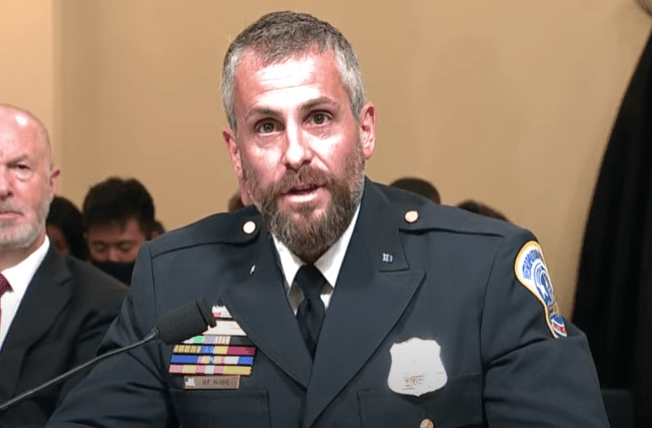 DC cop calls out Congressional Republicans for violating their oath of office