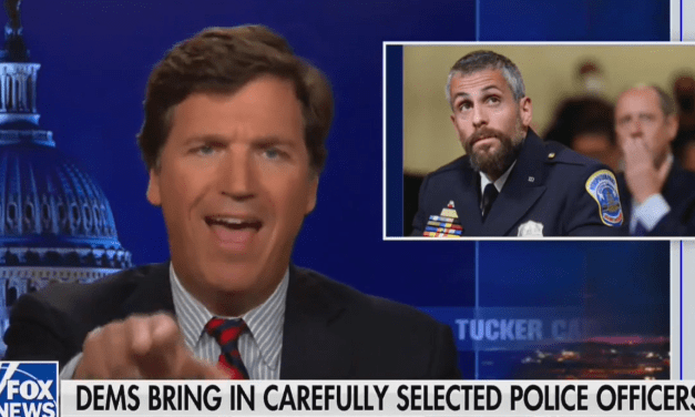 Tucker Carlson mocks Capitol policeman for saying he suffers from PTSD