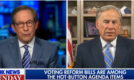Chris Wallace slams Greg Abbott for Texas law that will 'suppress voting by people of color'