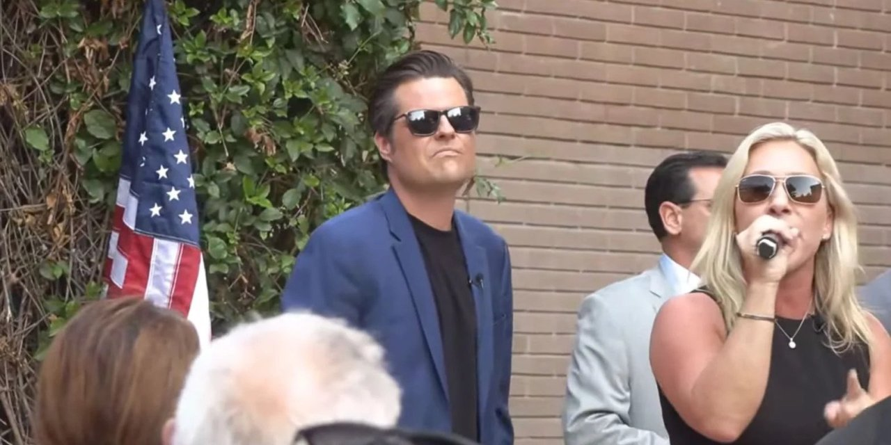 Gaetz and Greene humiliated by pathetic turnout for their latest 'America First' rally