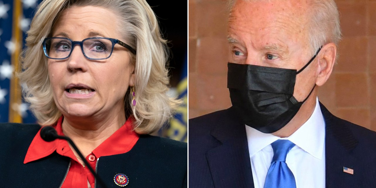 Liz Cheney tries to blame Afghanistan on Biden and gets handed an instant fact check