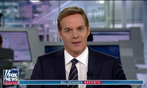 Fox News host Bill Hemmer tells viewers that Karl Marx wrote 'Mein Kampf'