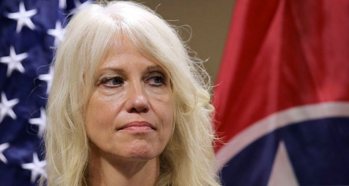 Twitter laughs at Kellyanne Conway for complaining about 'presidential norms' after Biden fires her
