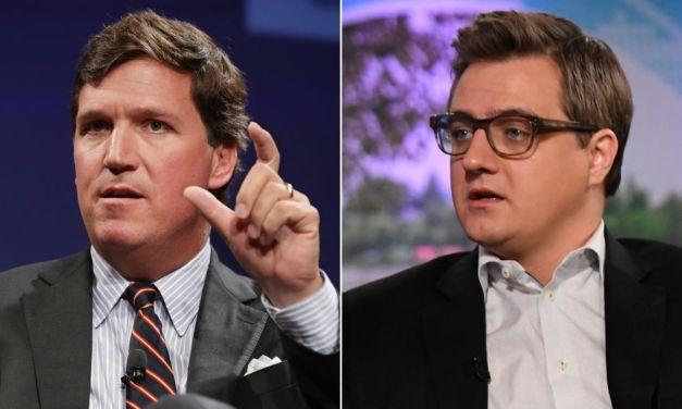 Chris Hayes dares Tucker Carlson to resign over Fox's vaccine mandate