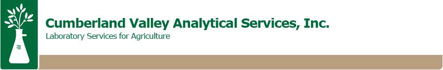Cumberland Valley Analytical Services logo