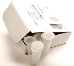Sample Vials for Mastitis DNA testing