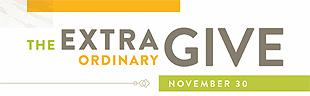The Extraordinary Give logo