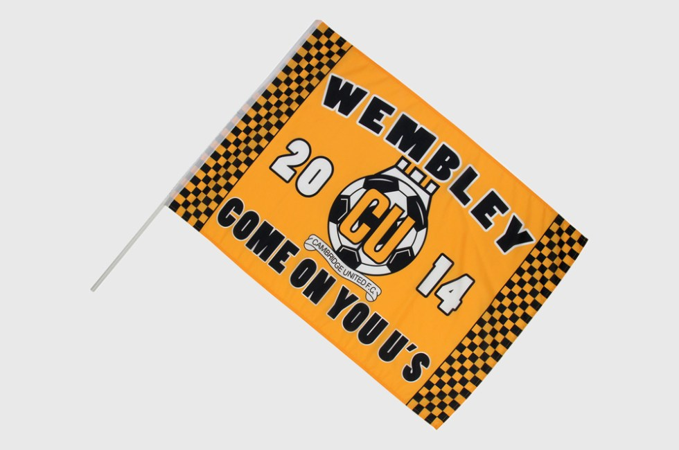 Custom Printed Hand Waving Flags | Promotional Flags
